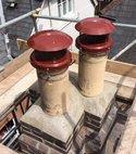 Square thumb chimneys