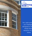 Square thumb sash windows