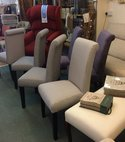 Square thumb dining chairs 1