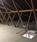 Square thumb truss loft