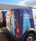 Square thumb gascare vans