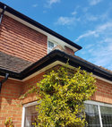 Square thumb upvc fascia soffit guttering installations