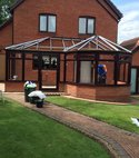 Square thumb cole conservatory frames