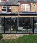 Square thumb rear kitchen dinnig room extension full property refurbishment 2016 london n21
