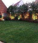 Square thumb garden light
