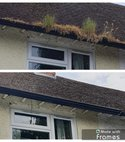 Square thumb gutters