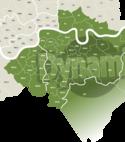 Square thumb area map