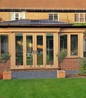 Square thumb oak orangery kent