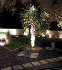 Square thumb garden external lighting   power