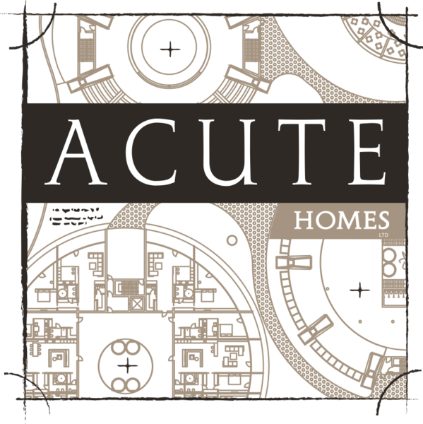 Gallery large acute homes logo