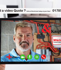 Square thumb video quote small size