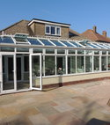 Square thumb conservatories