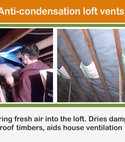 Square thumb anti condensation loft