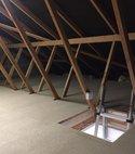 Square thumb truss loft
