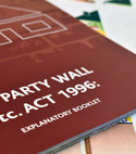 Square thumb party wall act booklet