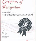 Square thumb niceic 10 years