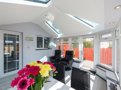 Primary thumb srjwindows conservatory living roof let  14