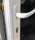 Square thumb upvc lock