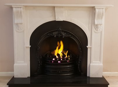 Primary thumb cast iron fireplace