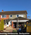 Square thumb roof cleaned ashbourne derbyshire social
