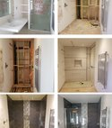 Square thumb en suite upgrade   slight alteration to create walk in shower please see website for projects past