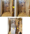 Square thumb devonshire close water softener install