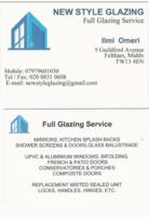 Profile thumb business card