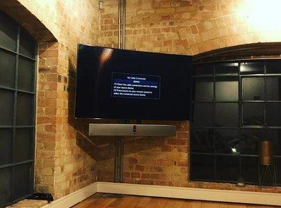 Primary thumb tv installation