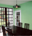 Square thumb dining room
