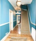 Square thumb hallway