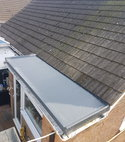 Square thumb kent roofing   fibre glass roofing3