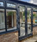 Square thumb grey conservatory dwarf wall