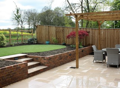 Primary thumb patio  artificial grass  wall  beds