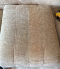 Square thumb upholstery cleaning