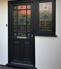 Square thumb black door amended