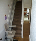 Square thumb 30 stone heavy duty stairlift installed jan 2019