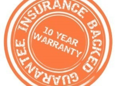 Primary thumb insurance backed guarantees logo
