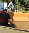 Square thumb lawntech top dressing