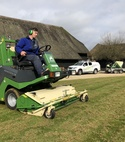 Square thumb lawntech scarification
