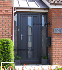 Square thumb l l contemporary evolve upvc door anthracite grey 1