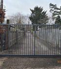 Square thumb commercial steel gate 1