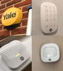 Square thumb yale burglary alarm system