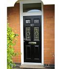 Square thumb hopton black door