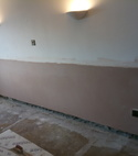 Square thumb damp proofing