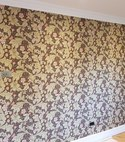 Square thumb morris and co. kitchen wallpaper