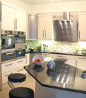 Square thumb kitchen