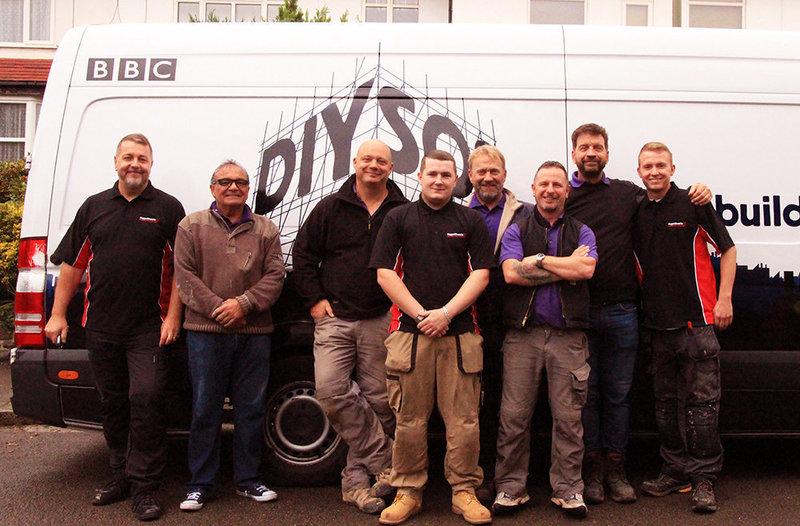 Gallery large red van plumbers diy sos bbc