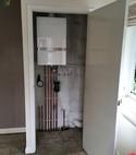 Square thumb atag boiler installation  3