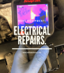 Square thumb electrical repairs