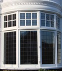 Square thumb sps timber windows casement bay window